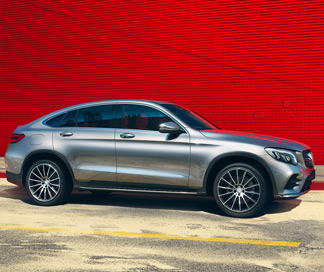 De GLC Coupé van Mercedes-Benz