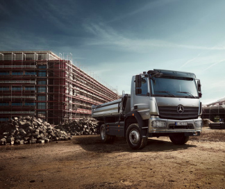 Leasing pour camions Mercedes-Benz
